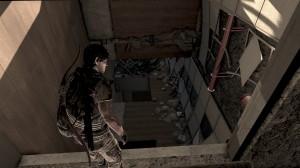 Climbing Through Building