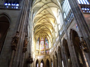 St. Vitus Cathedral the main hall